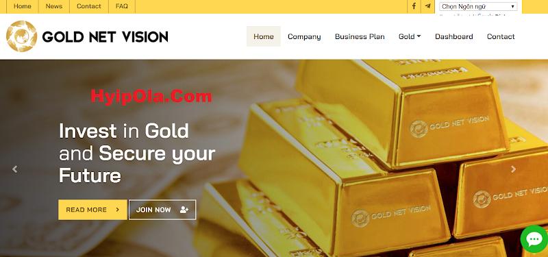 [SCAM] Review GoldNetVision.Com - Dự án MLM Binary của admin có tiếng - Lãi up 3.5% hằng ngày