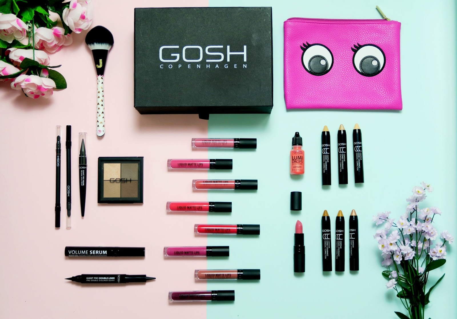 an image of GOSH SS17 Makeup Collection
