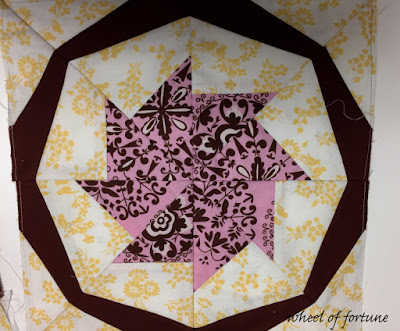 Wheel of Fortune Paper-Pieced Quilt Block