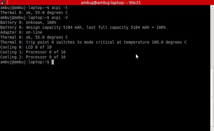Ubuntu Tips: Manage CPU temperature