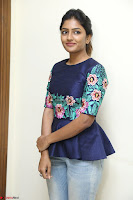 Eesha Looks super cute stunning in Denim Jeans and Top at Darsakudu movie Inerview ~  Exclusive 058.JPG