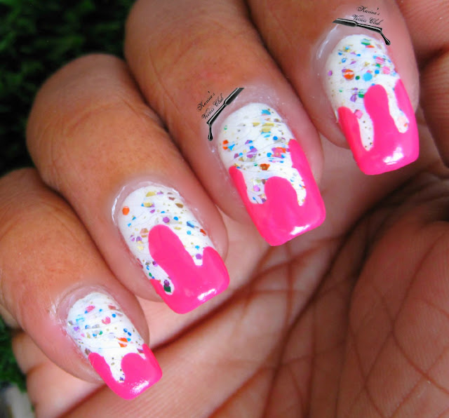 Karine's Vernis Club: Pink Drips