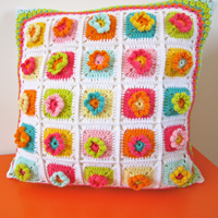 Crochet Pattern Flower Square I