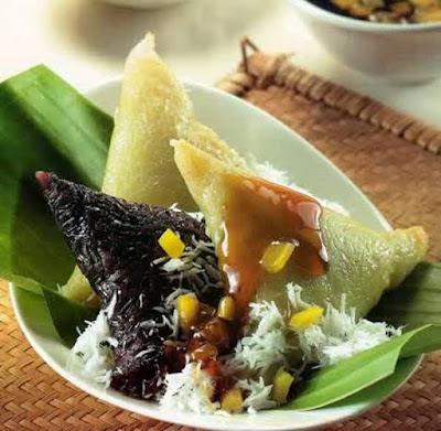 Resep Kue Lupis Manis Jajanan Pasar