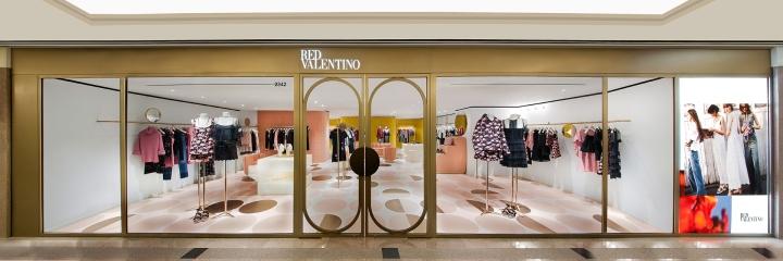 red valentino store em hong kong design innova. Black Bedroom Furniture Sets. Home Design Ideas