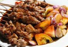 Resep praktis (mudah) sate blengong spesial (istimewa) khas brebes enak, sedap, gurih, nikmat lezat