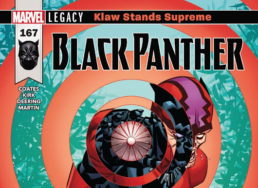 PREVIEW: BLACK PANTHER #167