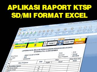 Kalau dahulu bentuk raport adalah buku yang ditulis tangan oleh wali kelas masing Geveducation:  Aplikasi Raport KTSP SD/MI Excel Untuk Semua Kelas