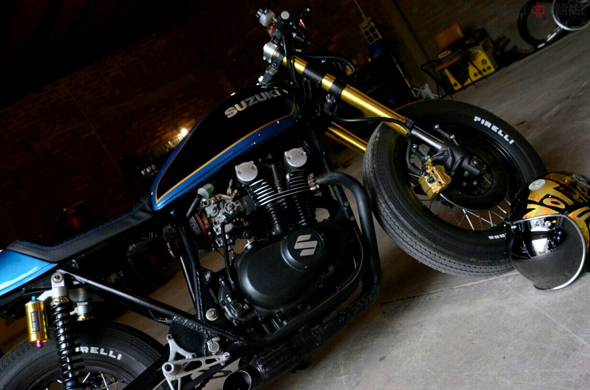 Suzuki GS 400 Dino's cycles - RocketGarage - Cafe Racer Magazine