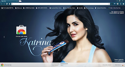 Katrina Kaif Google Chrome Theme
