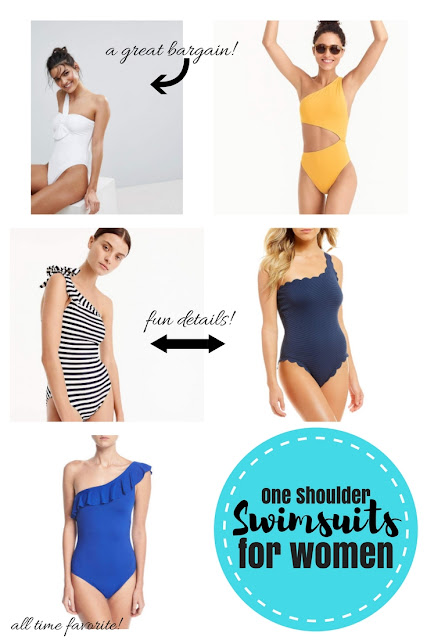 One Shoulder Swimsuits for women
