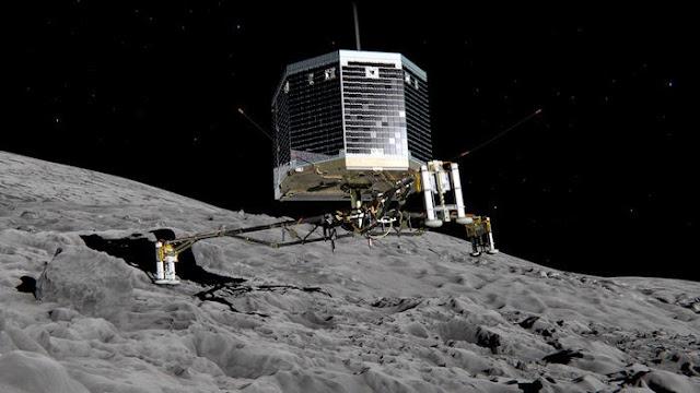 philae sulla cometa ESA
