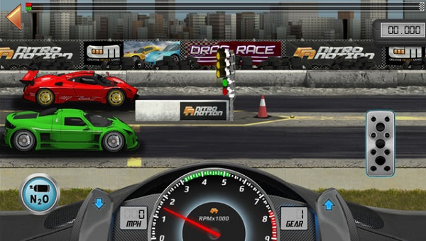 Drag Racing Classic iPhone iPad Android juegos de autos gratis