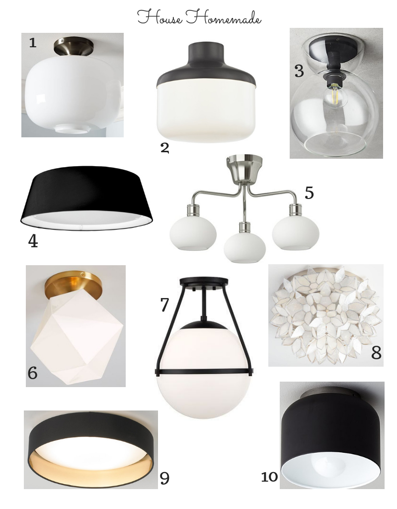 Modern Eclectic Lighting Round Up