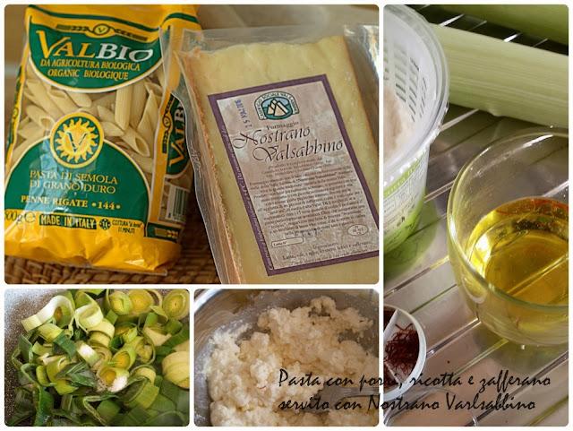 ricetta di pasta con porri e ricotta preparazione