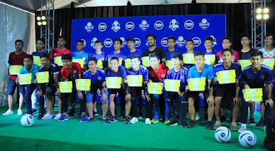 Para pemain terbaik yang mengikuti Nivea Men Real Madrid Fundacion Professional Camp