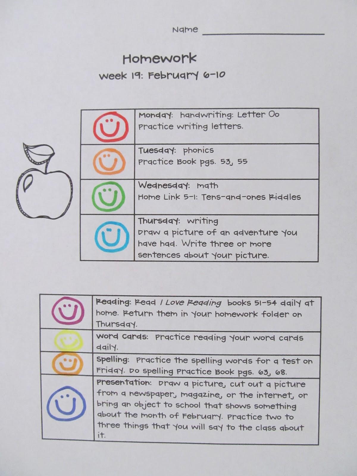 First Grade Schoolhouse Homework Helps
