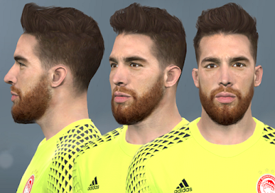 PES 2017 Faces José Sá by WER Facemaker