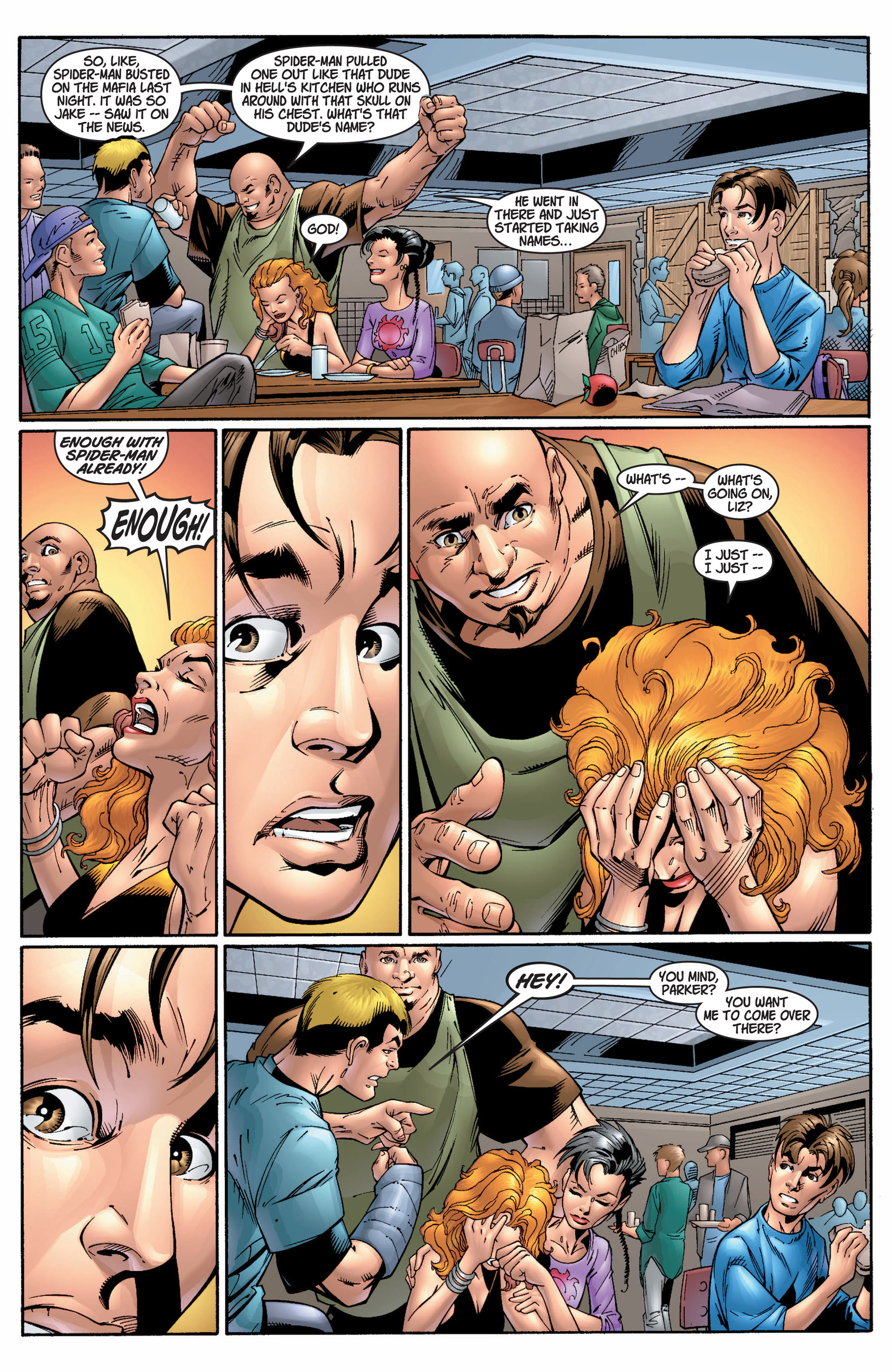 Read online Ultimate Spider-Man (2000) comic -  Issue #9 - 13
