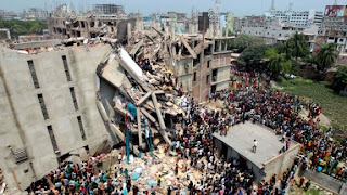 video evakuasi runtuhnya plaza di bangladesh