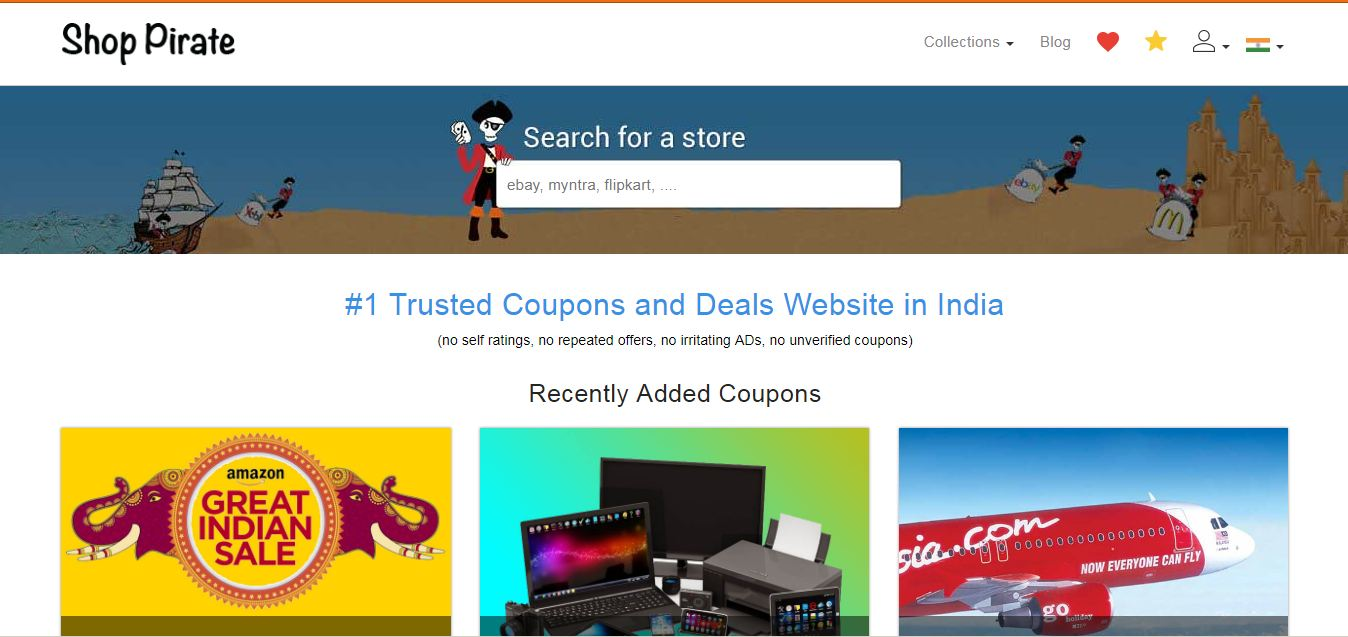 580e9add1 India s Top 5 Free Online Coupon Website With Best Discount