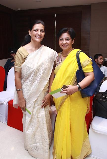 Anita Acharya  and Interior designer Punam Kalra