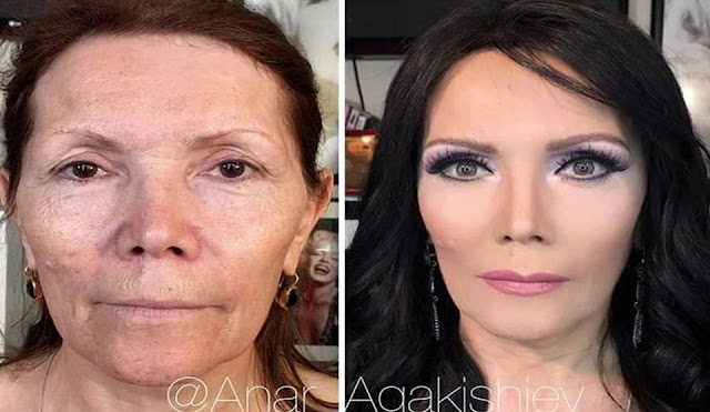 Incredible Before & After Make Up Transformations You Will Not Believe