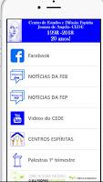 Atualização do app do CEDE