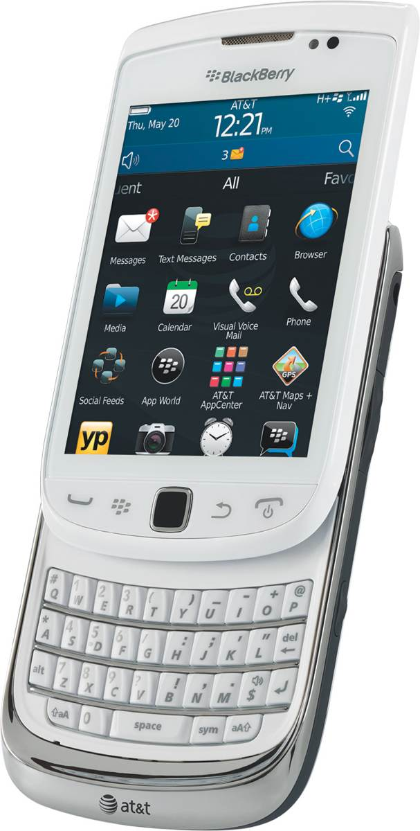 BlackBerry Torch 4G 9810 Phone White (AT&T) Specifications ...