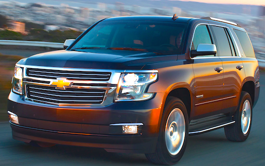 2018 Chevrolet Tahoe Towing Capacity