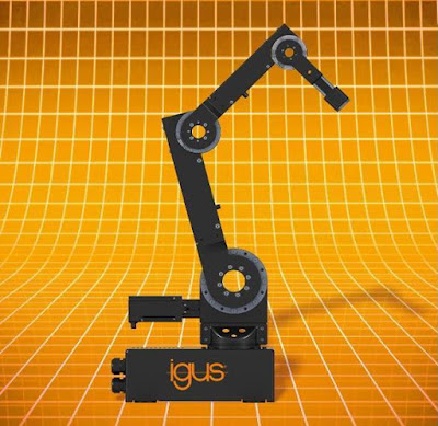 igus Offers Low cost automation with 5-axis Articulated Arms