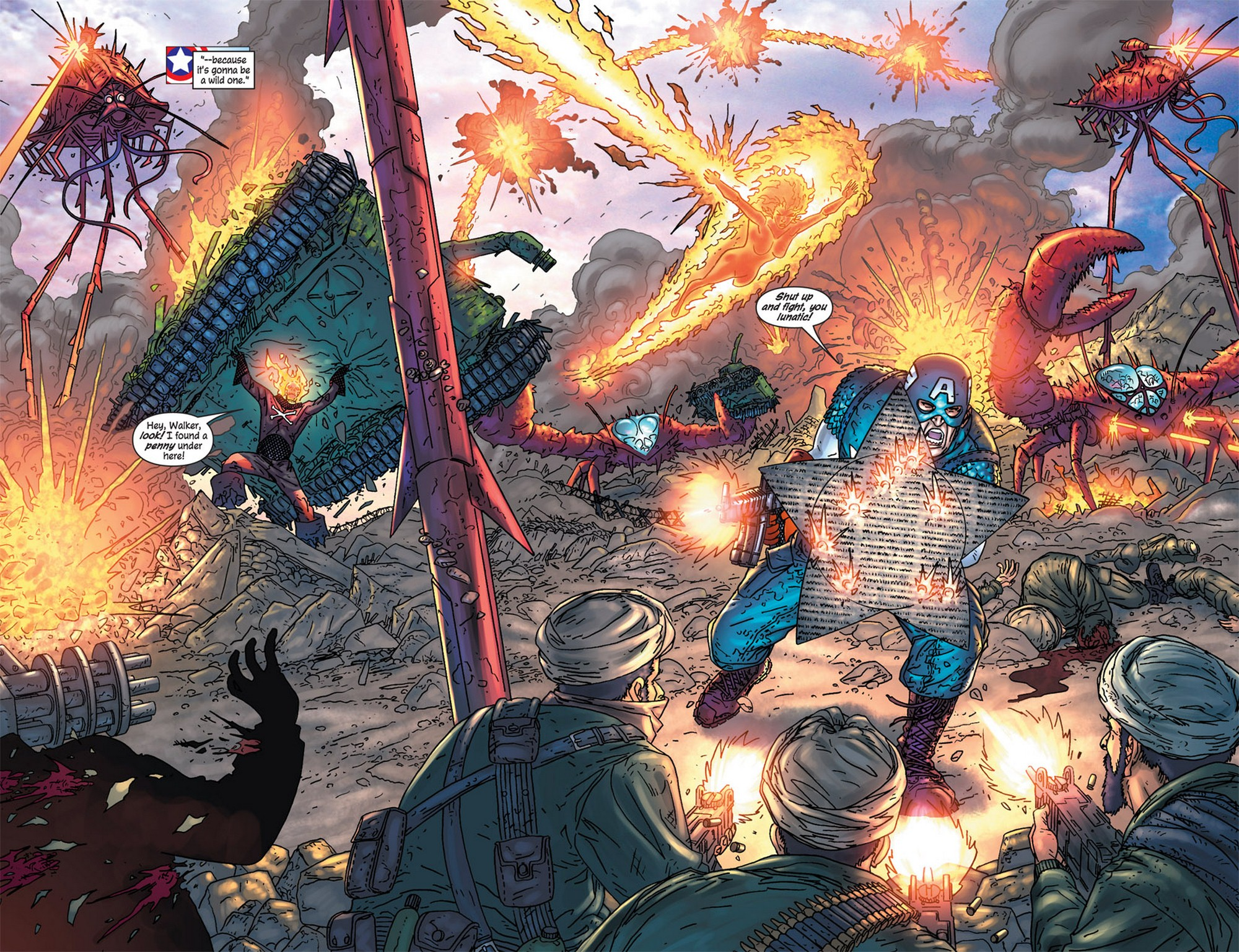 Read online Avengers (1998) comic -  Issue #84 - 5