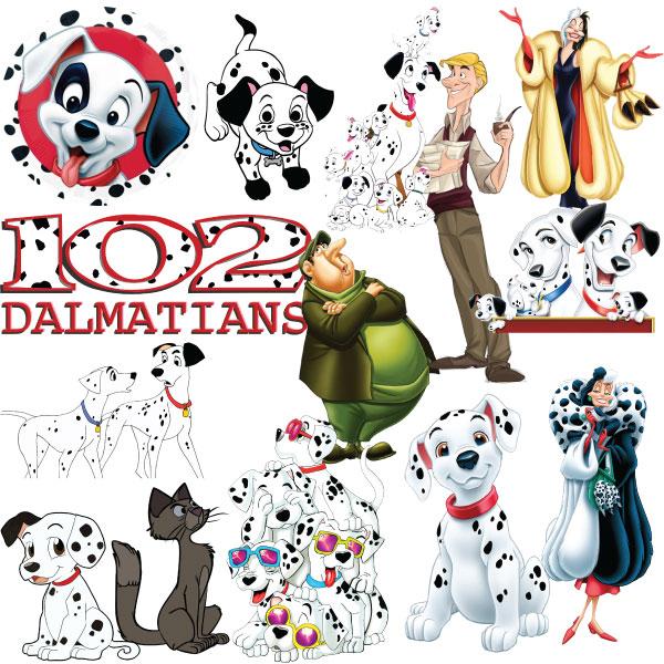 101 Dalmatians Clipart wwwmydesigns4youcom