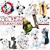 101 Dalmatians Clipart
