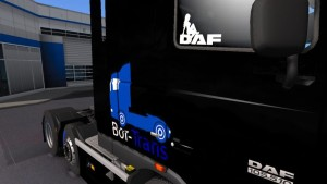 Bor Trans Skin for DAF XF