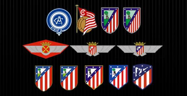 El Atlético de Madrid presenta su nuevo escudo