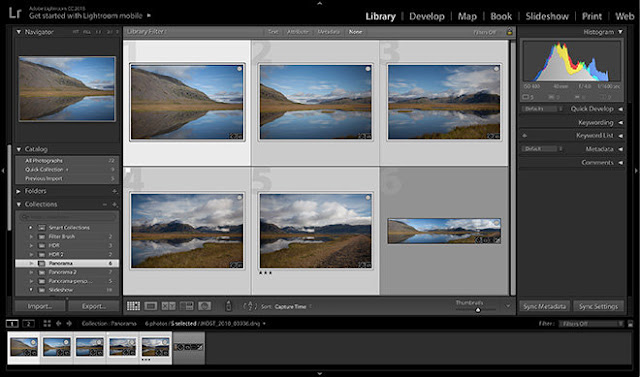 CC 2015.4 update Lightroom / Camera Raw 6.4 and 9.4 with a new option for panoramic