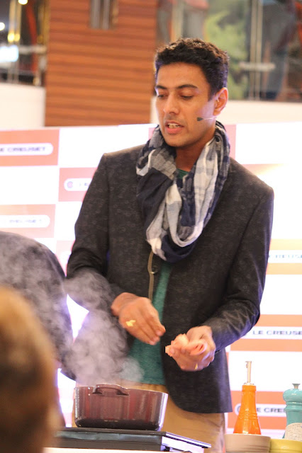 Chef Ranveer Brar with Le Creuset