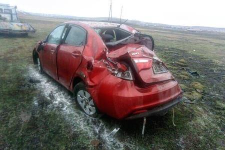 В Баймакском районе по вине пьяного водителя пострадали двое детей