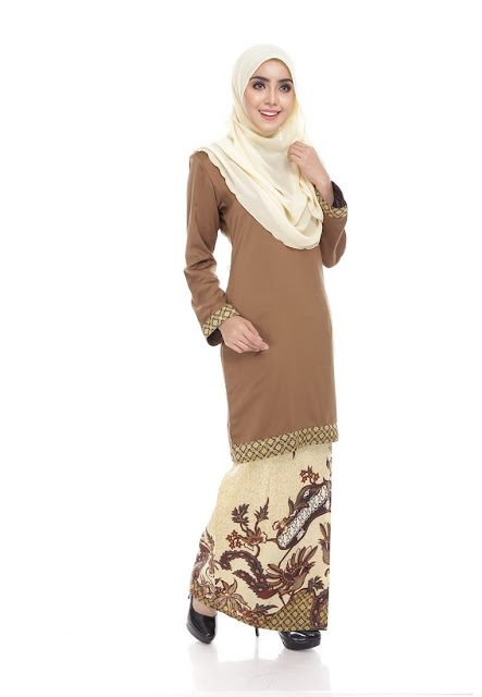 Seri Maharani Kurung Modern Batik