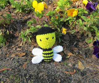 Amigurumi Crochet Bumble Bee