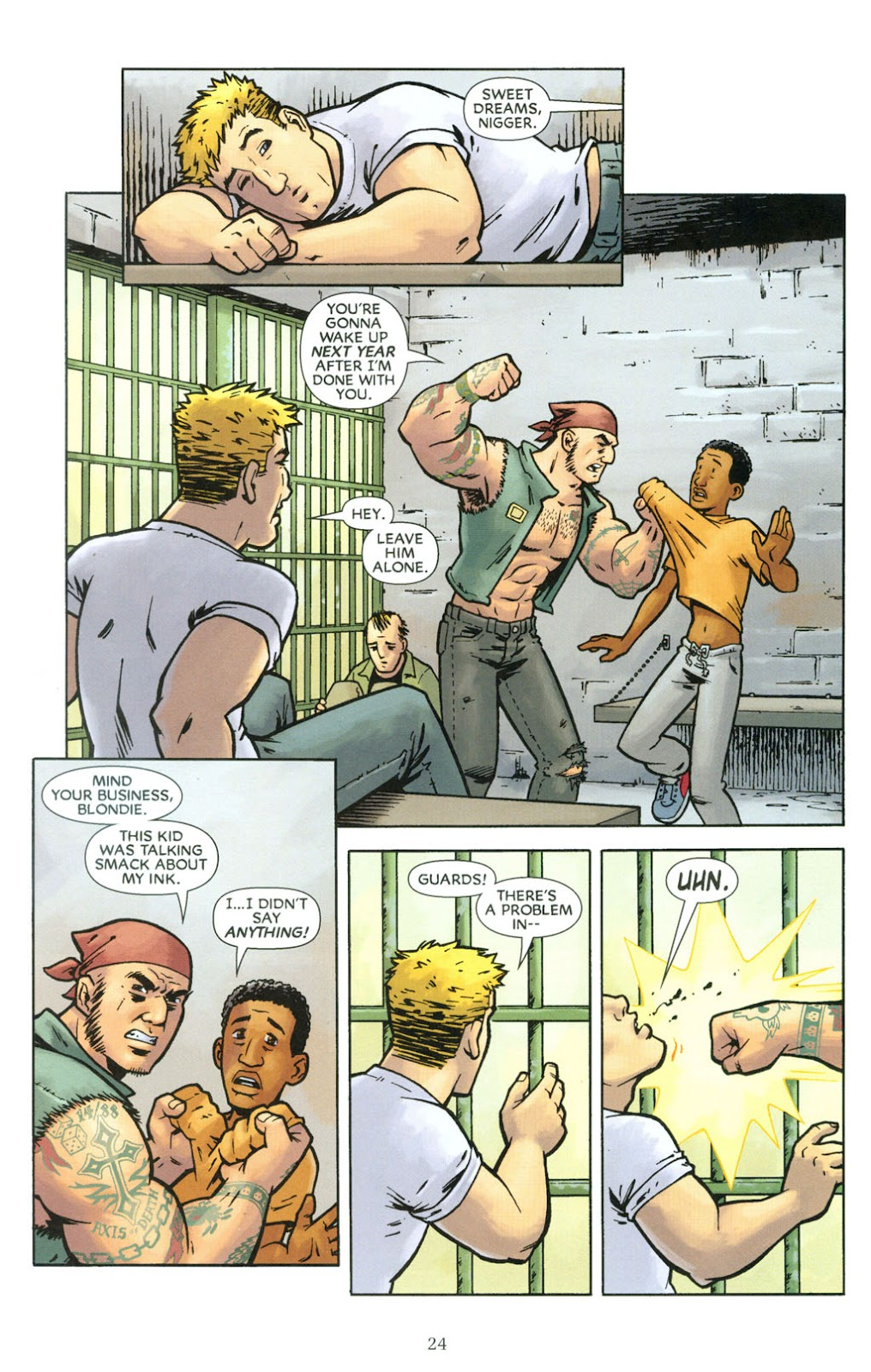 Read online The Escapists comic -  Issue #5 - 26