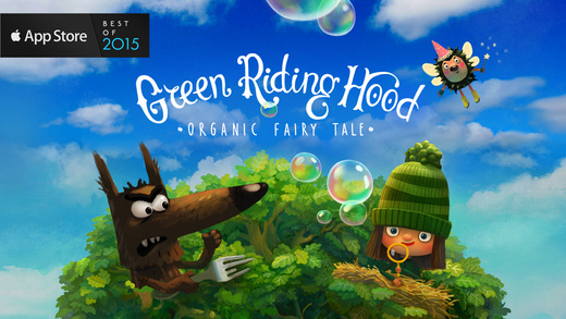Green Riding Hood , Apple's free app of the week is a new masterpiece app for kids. Enjoy its beautiful graphics, cute characters, bright story and excellent narration