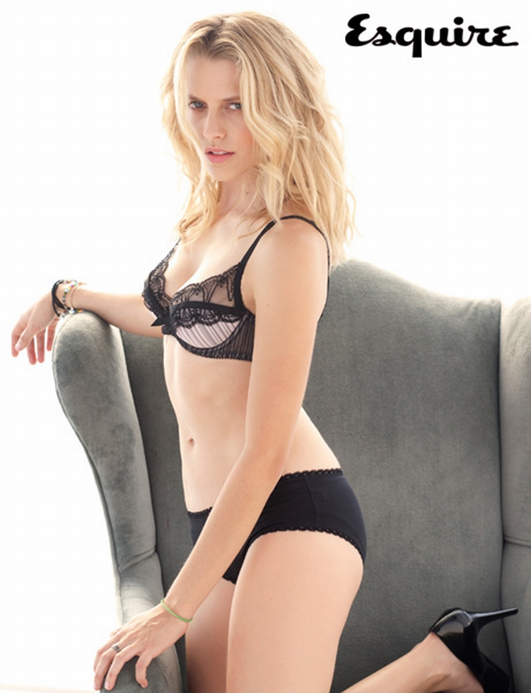 Teresa Palmer Sexy Lingerie On Esquire Magazine March 2011 -6517