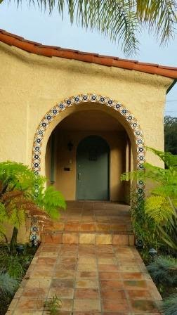 Saltillo tile pavers look great with Spanish-style homes.