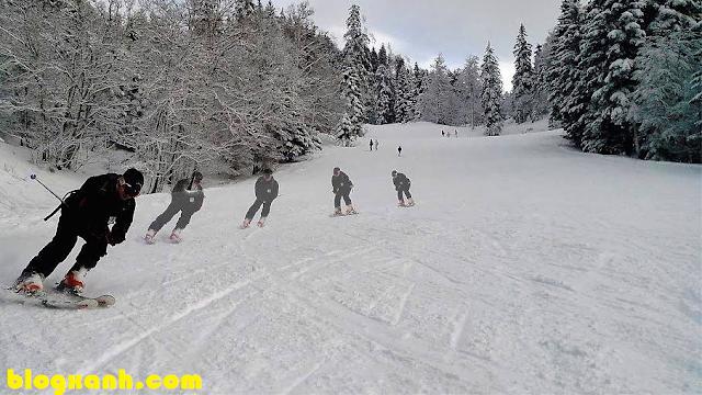 Kinh doanh như trượt tuyết