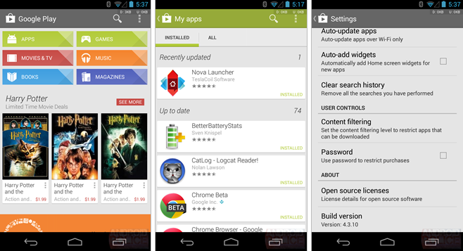 Google Play Store 4 3 10 (Download) ~ Android Coliseum