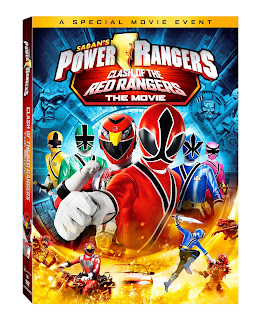 DVD Review - Saban's Power Rangers: Clash of the Red Ranger: The Movie