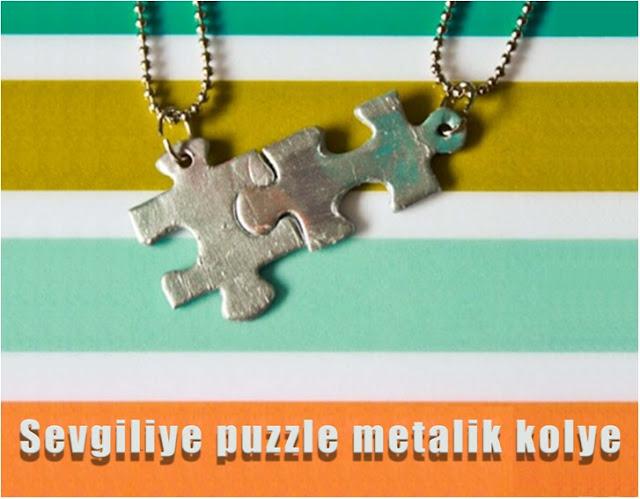 puzzle kolye nasıl yapılır