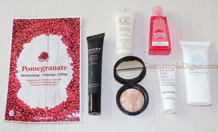 LookFantastic Beauty Box April 2017 Review, Unboxing, Contents